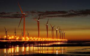 Rüzgar türbininin mekanik montajı