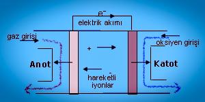 Yakıt pili(elektrokimyasal ünite) nedir?
